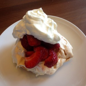 strawberry meringue (julie)
