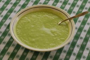 avocado mint soup