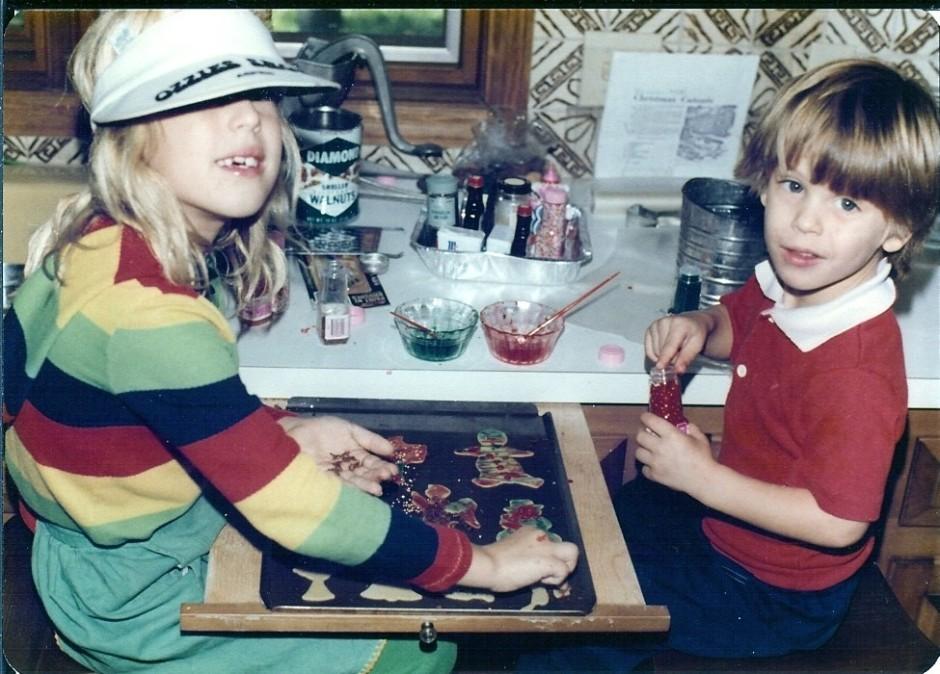 1977 Baking cookies 2