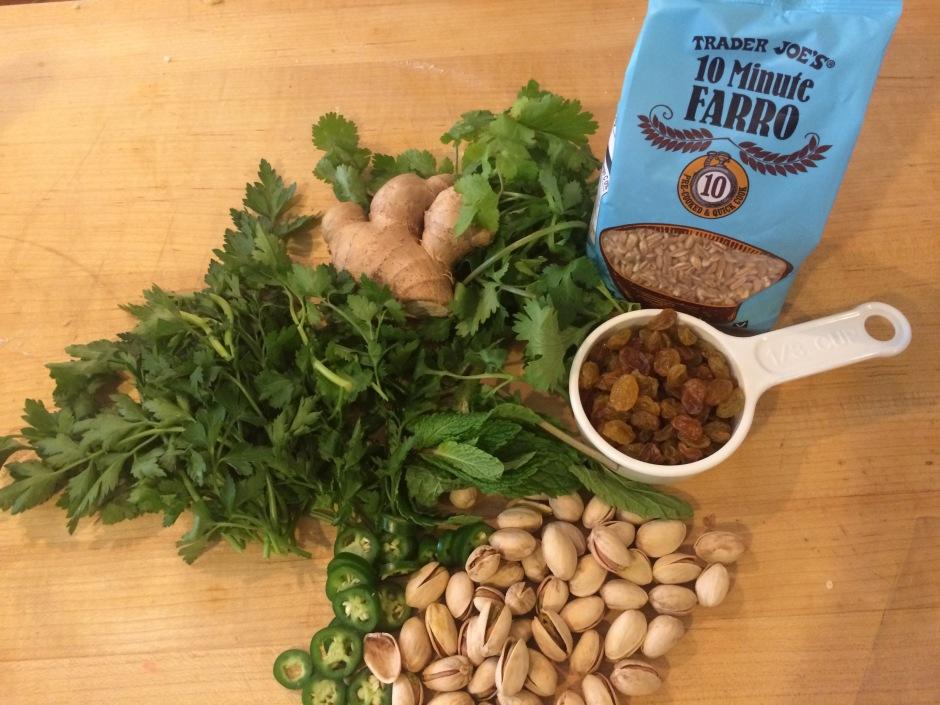 farro ingredients